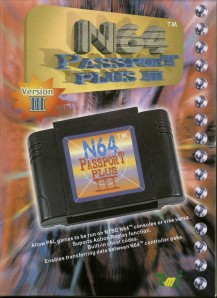 N64 Passport Plus III Front