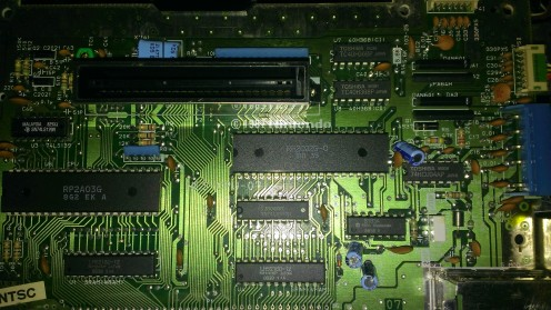 NES Disable CIC Lockout Chip