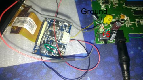Sega Nomad No Blinking LCD 5 Volt Point