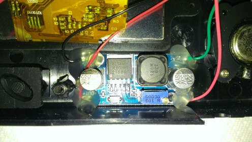 DC to DC Step Up Converter Nomad Blinking Screen Fix  2