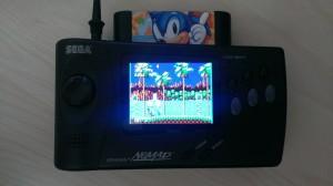 Sega Nomad LCD Mod