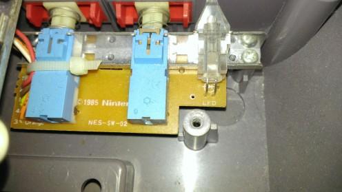 NES LED Mod