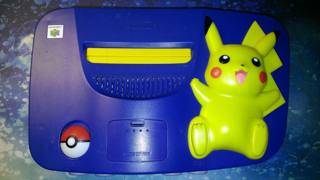 64 nintendo pikachu